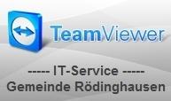 Externer Link: Kundenmodul TeamViewer QuickSupport Rödinghausen