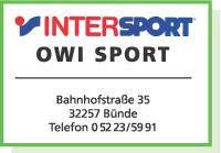 Externer Link: OWI Sport in Bünde