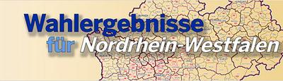 Externer Link: Wahlergebnisse für Nordrhein-Westfalen