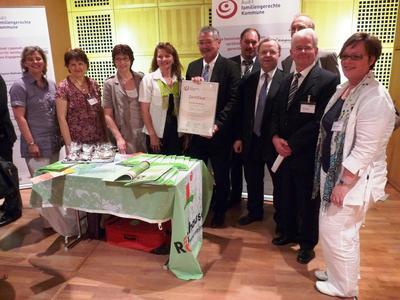 Audit Familiengerechte Kommune - Delegation der Gemeinde Rödinghausen